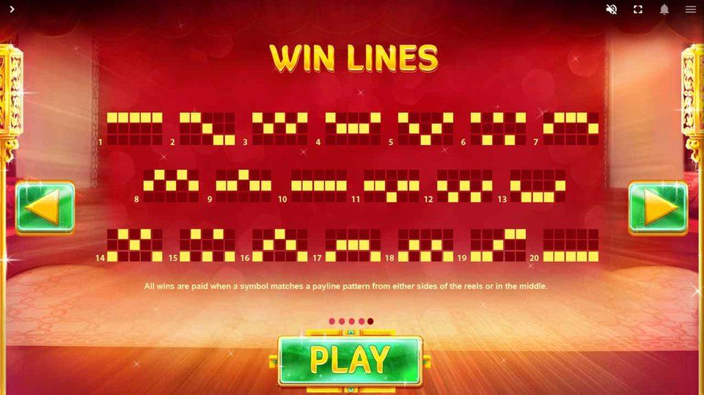 Pay Line เพย์ไลน์ เกมสล็อตออนไลน์ Fortune House