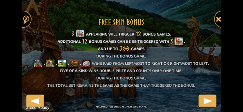 Free Spin Bonus เกม Viking สล็อตออนไลน์
