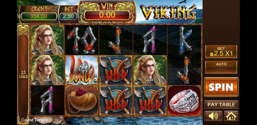 Viking เกมสล็อตออนไลน์ UFAslot