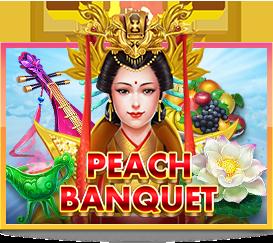 Peach Banquet เกมสล็อตออนไลน์ ทดลองเล่นสล็อต XO