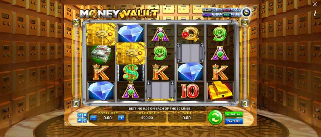 Money Vault เกมส์สล็อตออนไลน์