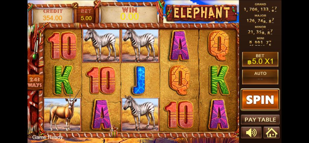 elephant สล็อตออนไลน์ จาก ufabet