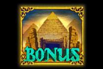 สัญลักษณ์ Bonus โบนัส (พีระมิด) สล็อตฟาโร