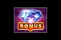 สัญลักษณ์ Bonus โบนัส (เพชร) สล็อตผลไม้โชคดี