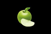 สัญลักษณ์ แอปเปิ้ลเขียว สล็อตผลไม้โชคดี