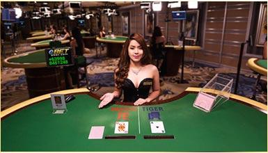 เสือมังกร (Dragon Tiger) eBET Casino