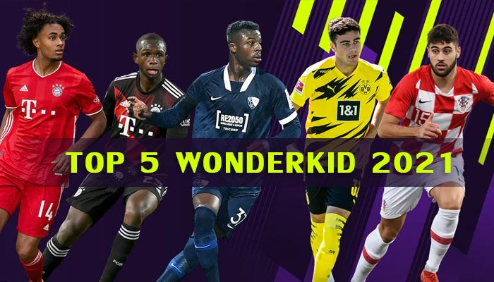 top 5 wonderkids 2021